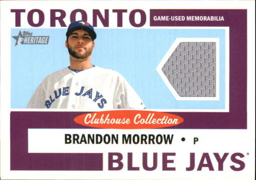 Photo of 2013 Topps Heritage Clubhouse Collection Relics #BMO Brandon Morrow