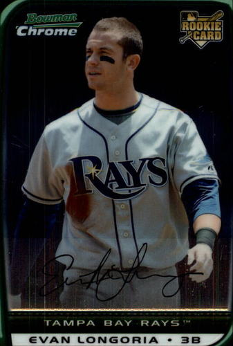 Photo of 2008 Bowman Chrome Draft #BDP27a Evan Longoria RC