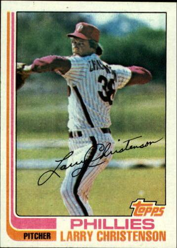 Photo of 1982 Topps #544 Larry Christenson