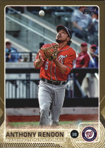 Photo of 2015 Topps Gold #251 Anthony Rendon
