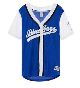 Toronto Blue Jays Love PINK Mesh Jersey by Victoria's Secret