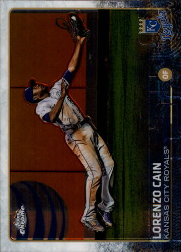 Photo of 2015 Topps Chrome #176 Lorenzo Cain