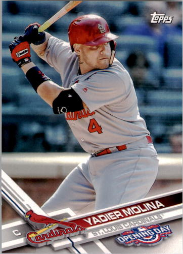 Photo of 2017 Topps Opening Day #48 Yadier Molina