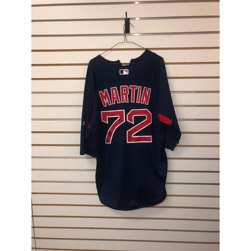 Kyle Martin Team-Issued Road Batting Practice Jersey