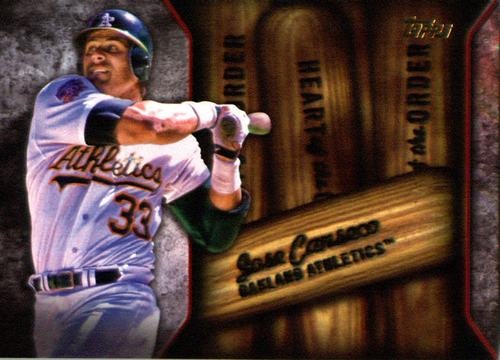 Photo of 2015 Topps Heart of the Order #HOR5 Jose Canseco
