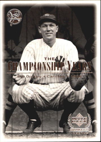 Photo of 2000 Upper Deck Yankees Legends #72 Bill Dickey '38 TCY