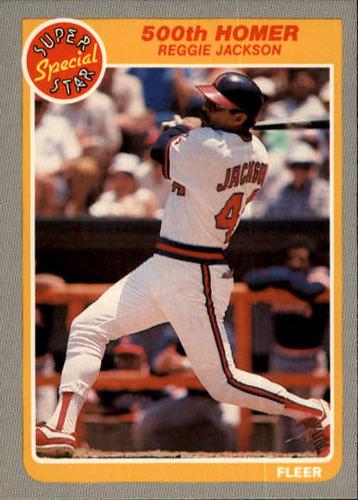 Photo of 1985 Fleer #639 Reggie Jackson IA