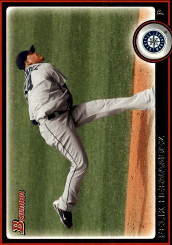 Photo of 2010 Bowman #186 Felix Hernandez