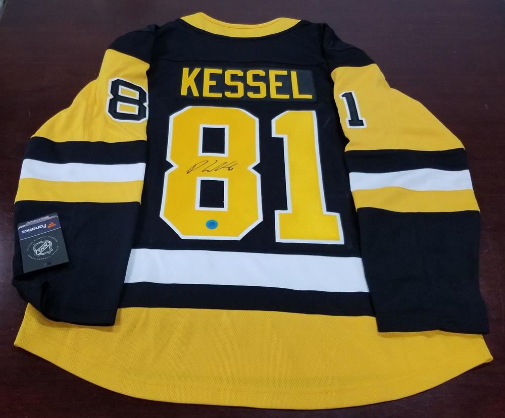 Phil Kessel Pittsburgh Penguins Autographed Fanatics Hockey Jersey