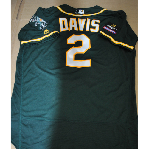 Photo of Game-Used Jersey - 2019 Japan Series - Oakland Athletics at Nippon Ham Fighters - 3/18/2019 - Khris Davis