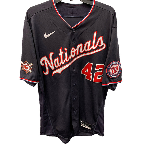 Photo of Michael A. Taylor - Jackie Robinson Day Game Used Jersey
