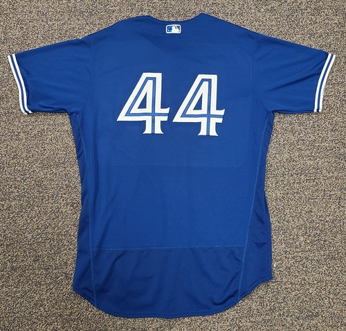 Photo of Authenticated Team Issued 2020 Spring Training Jersey: #44 Rowdy Tellez. Size 50