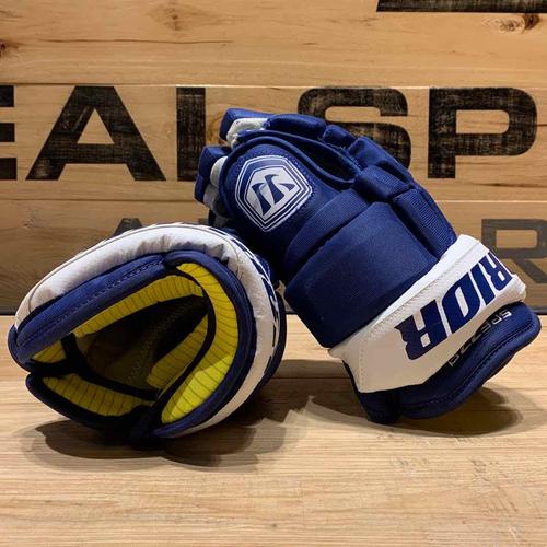 Jason Spezza 2019-20 Game Worn Warrior Gloves (CBJ 1)