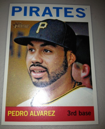 Photo of 2013 Topps Heritage #498 Pedro Alvarez SP