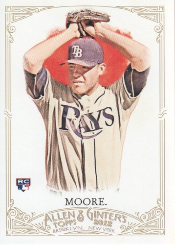 Photo of 2012 Topps Allen and Ginter #21 Matt Moore RC
