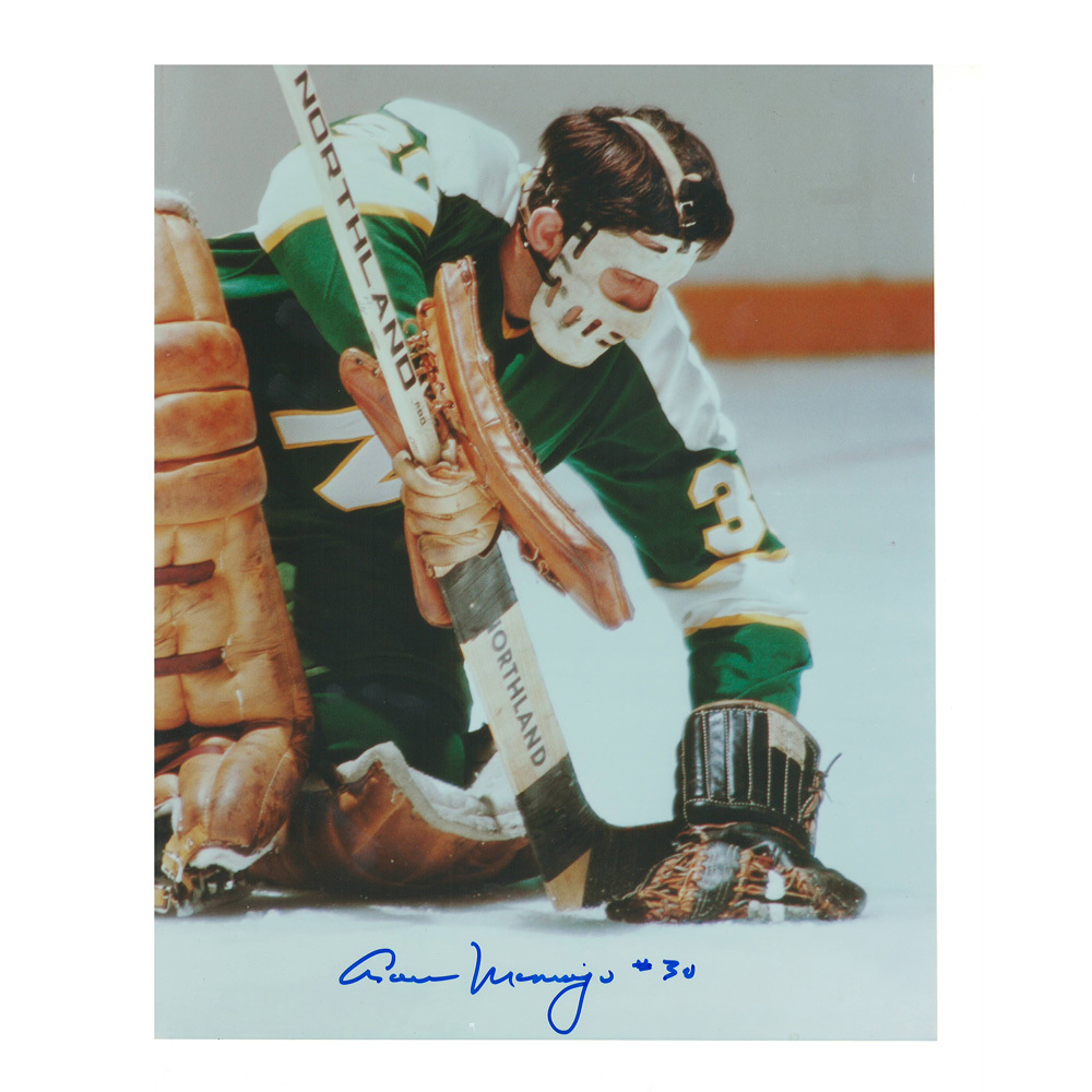 CESARE MANIAGO Signed Minnesota Northstars 8 X 10 Photo - 70213