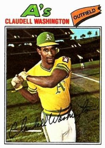 Photo of 1977 Topps #405 Claudell Washington