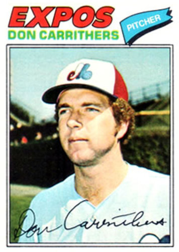 Photo of 1977 Topps #579 Don Carrithers