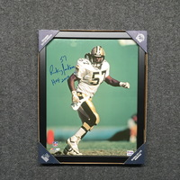 HOF - SAINTS RICKEY JACKSON SIGNED 11X14 FRAMED PHOTO