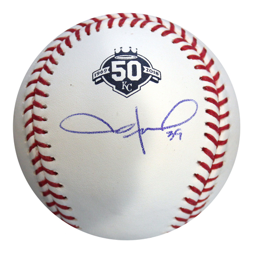 Photo of Autographed 50th Season Baseball: Jason Hammel