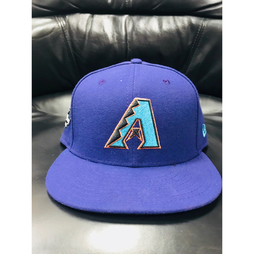 Photo of Team-Issued Purple Throwback Cap - Size 7 3/8