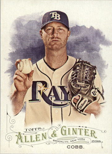 Photo of 2016 Topps Allen and Ginter #123 Alex Cobb