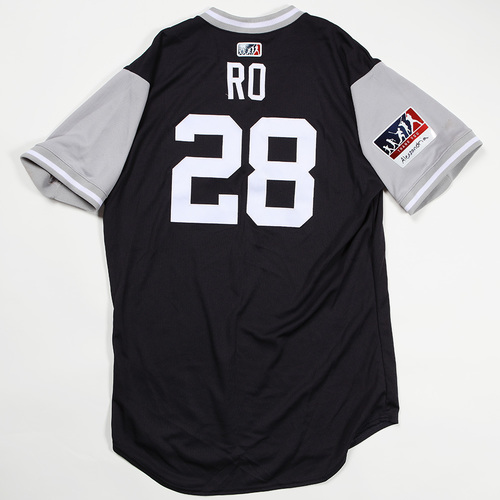 "Photo of Austin ""Ro"" Romine New York Yankees Game-Used Jersey 2018 Players' Weekend Jersey"