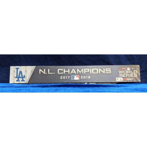Photo of 2018 World Series Team-Issued Locker Tag, Medium