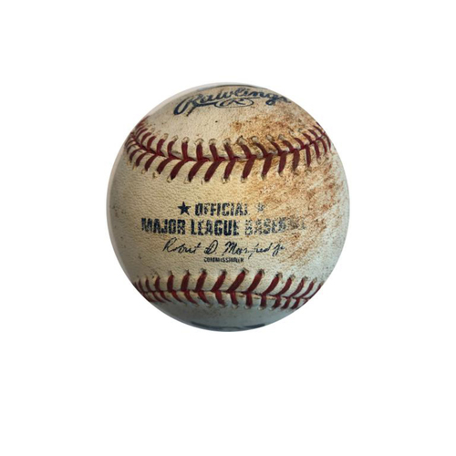 Photo of Game-used Baseball: 6/14/2017 Jhan Marinez vs. Raimel Tapia - Single,  Story - Single