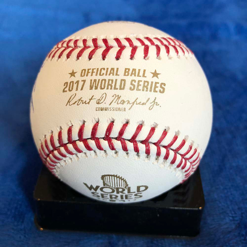 UMPS CARE AUCTION: 2017 World Series Crew Signed Baseball