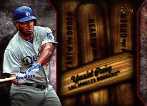 Photo of 2015 Topps Heart of the Order #HOR6 Yasiel Puig