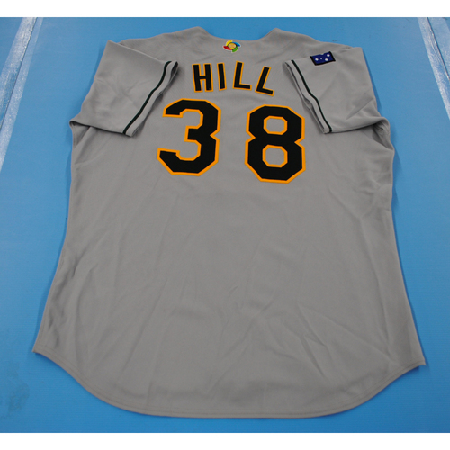 Photo of 2006 Inaugural World Baseball Classic: Josh Hill Game-worn Team Australia Road Jersey