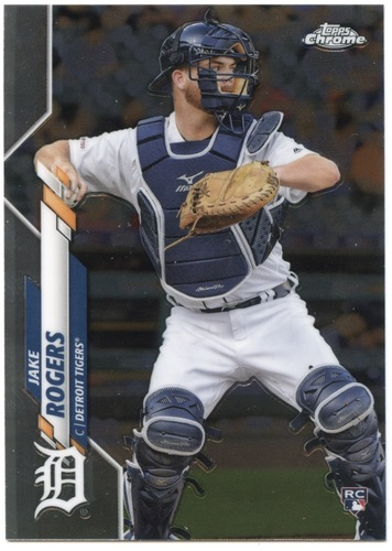 Photo of 2020 Topps Chrome #47 Jake Rogers RC