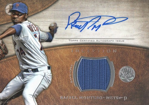Photo of 2014 Bowman Inception Relic Autographs #ARRM Rafael Montero