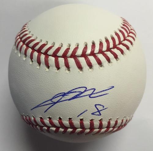 Kenta Maeda Autographed Baseball
