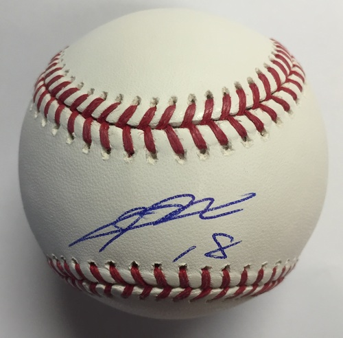 Photo of Kenta Maeda Autographed Baseball