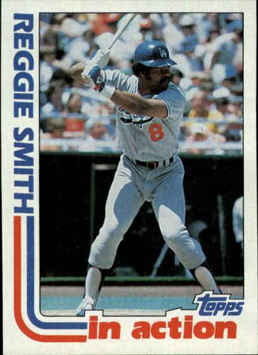 Photo of 1982 Topps #546 Reggie Smith IA