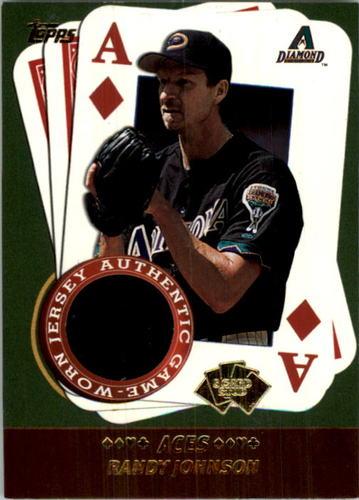 Photo of 2002 Topps 5-Card Stud Aces Relics #5ARJ Randy Johnson Jsy