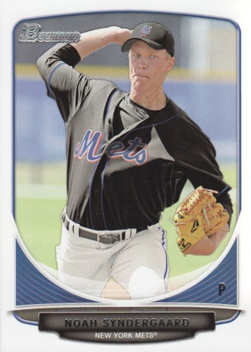 Photo of 2013 Bowman Draft Top Prospects #TP22 Noah Syndergaard Pre-Rookie Card