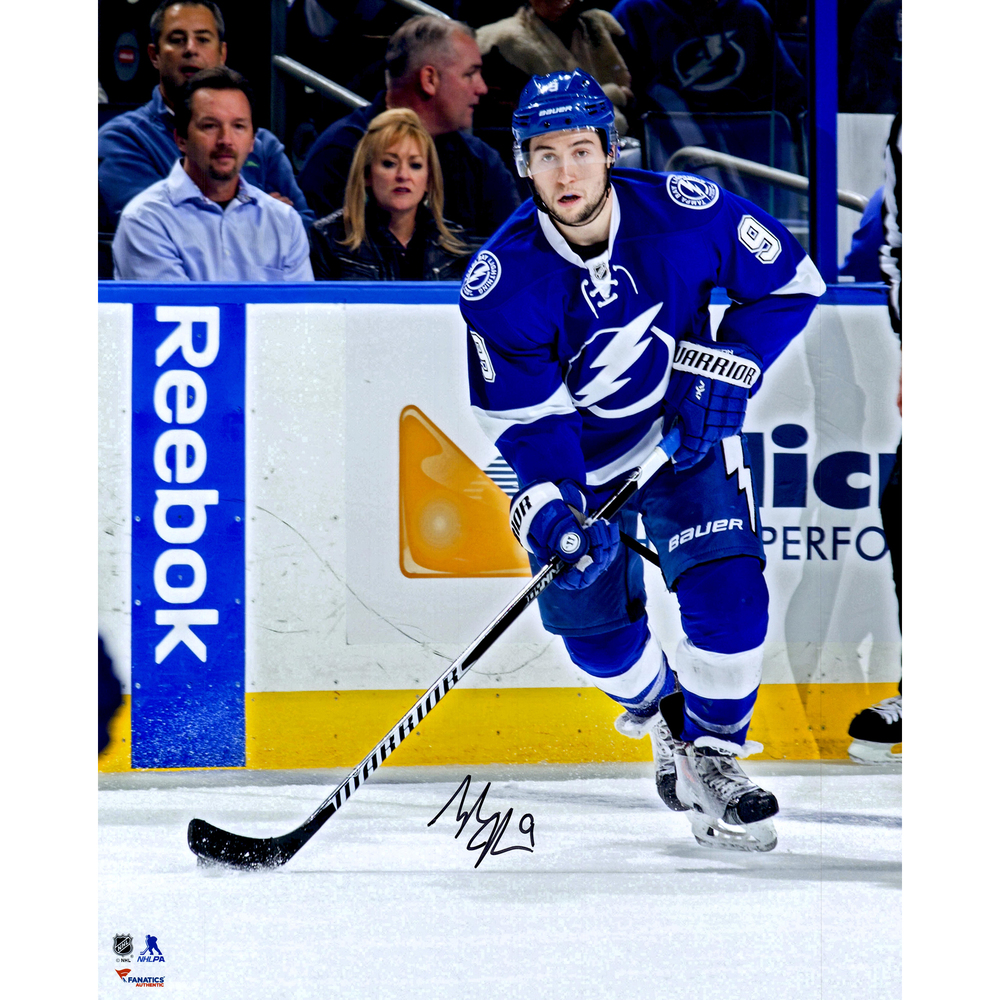 Tyler Johnson Tampa Bay Lightning Autographed 16