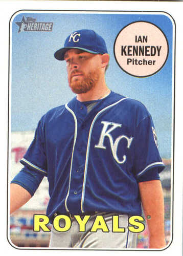 Photo of 2018 Topps Heritage #363 Ian Kennedy