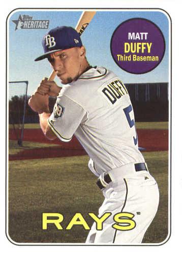 Photo of 2018 Topps Heritage #514 Matt Duffy
