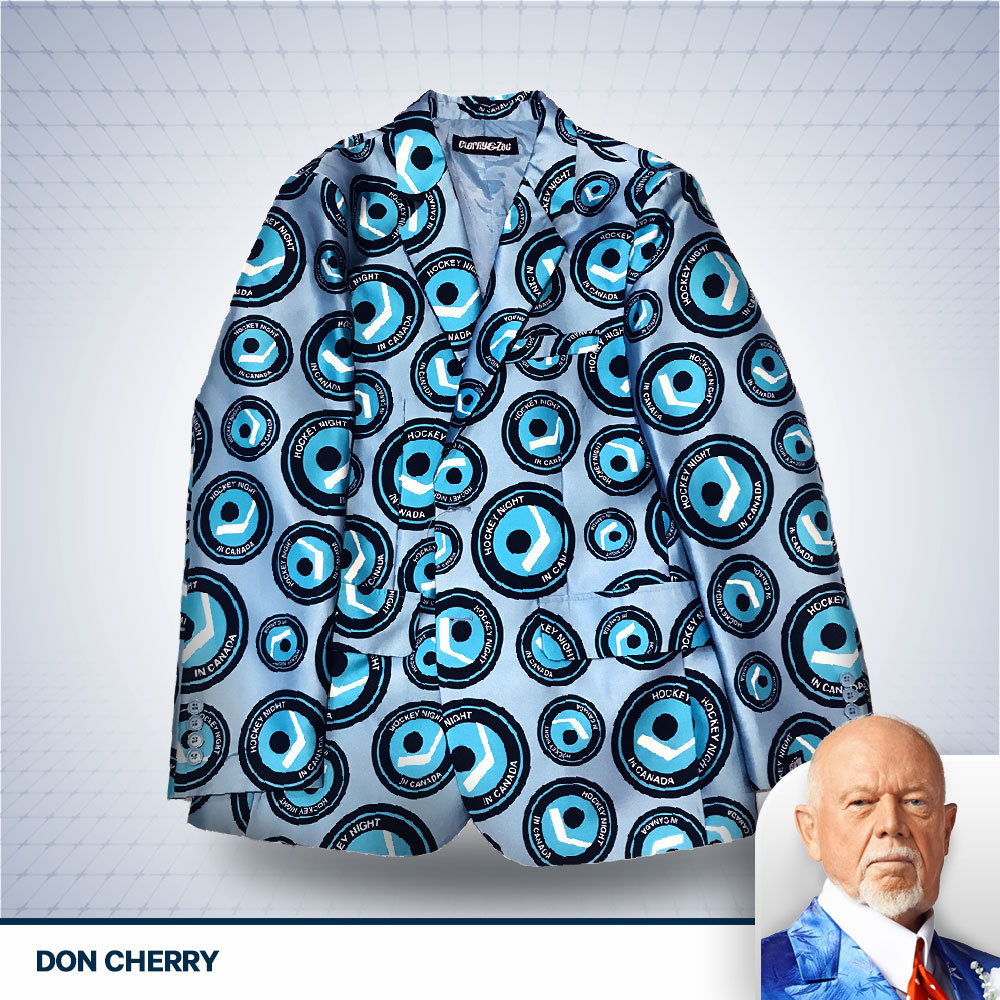 Don Cherry Hockey Night in Canada Autographed Jacket