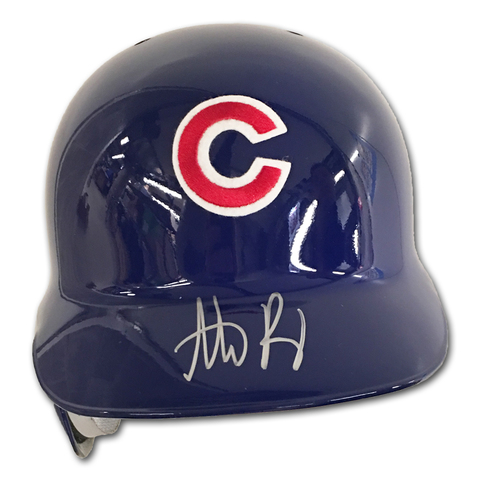 Photo of Anthony Rizzo Autographed Batting Helmet