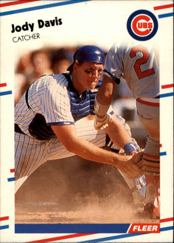 Photo of 1988 Fleer #414 Jody Davis