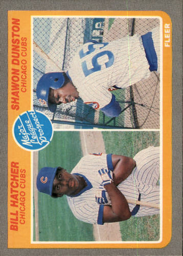 Photo of 1985 Fleer #649 Billy Hatcher RC/Shawon Dunston RC