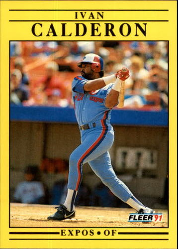 Photo of 1991 Fleer Update #97 Ivan Calderon