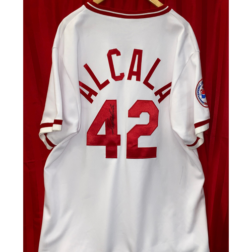 Photo of Santo Alcala Signed Jersey