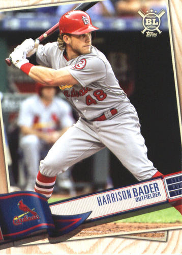 Photo of 2019 Topps Big League #301 Harrison Bader