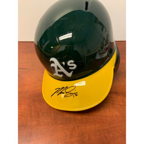 Oakland Athletics Community Fund: Autographed Marcus Semien Helmet